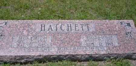 HATCHETT, IDELLE E - Union County, Arkansas | IDELLE E HATCHETT - Arkansas Gravestone Photos