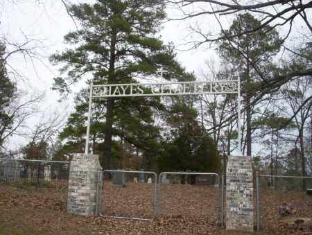 *HAYES CEMETERY, GATE - Union County, Arkansas   GATE *HAYES CEMETERY - Arkansas Gravestone Photos