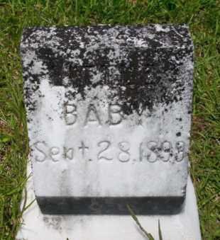 HAYES, INFANT - Union County, Arkansas   INFANT HAYES - Arkansas Gravestone Photos