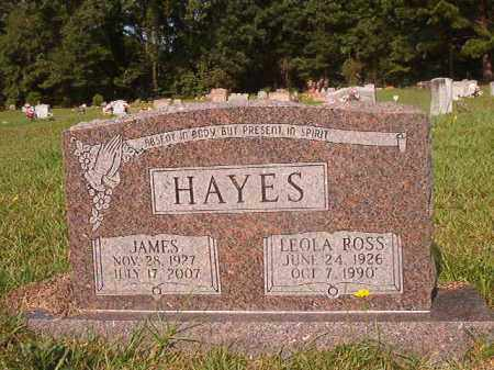 ROSS HAYES, LEOLA - Union County, Arkansas | LEOLA ROSS HAYES - Arkansas Gravestone Photos