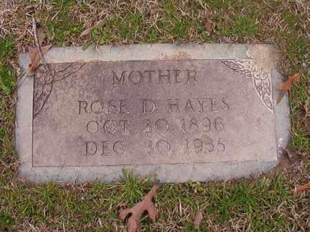 HAYES, ROSE D - Union County, Arkansas | ROSE D HAYES - Arkansas Gravestone Photos