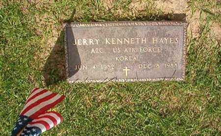 HAYES (VETERAN KOR), JERRY KENNETH - Union County, Arkansas   JERRY KENNETH HAYES (VETERAN KOR) - Arkansas Gravestone Photos