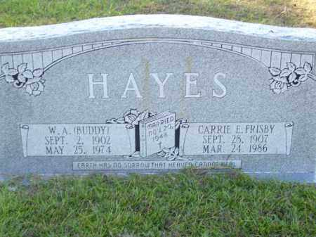 HAYES, W. A. BUDDY - Union County, Arkansas | W. A. BUDDY HAYES - Arkansas Gravestone Photos
