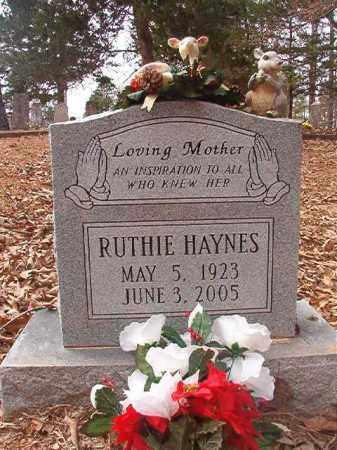 HAYNES, RUTHIE - Union County, Arkansas   RUTHIE HAYNES - Arkansas Gravestone Photos