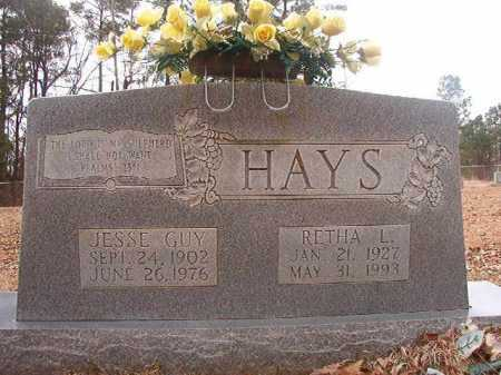 HAYS, RETHA L - Union County, Arkansas | RETHA L HAYS - Arkansas Gravestone Photos