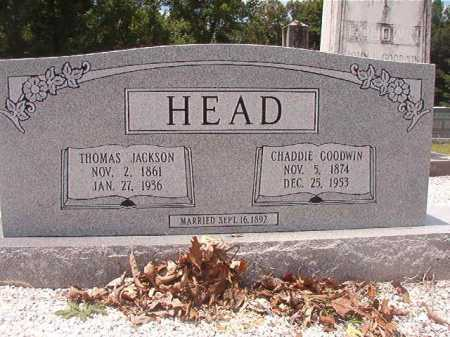 HEAD, THOMAS JACKSON - Union County, Arkansas | THOMAS JACKSON HEAD - Arkansas Gravestone Photos