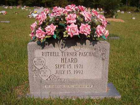 TURNER PASCHAL HEARD, RUTHELL - Union County, Arkansas | RUTHELL TURNER PASCHAL HEARD - Arkansas Gravestone Photos