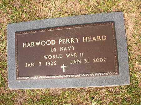 HEARD (VETERAN WWII), HARWOOD PERRY - Union County, Arkansas   HARWOOD PERRY HEARD (VETERAN WWII) - Arkansas Gravestone Photos