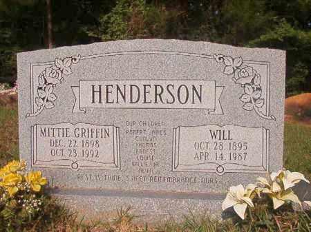 HENDERSON, WILL - Union County, Arkansas | WILL HENDERSON - Arkansas Gravestone Photos