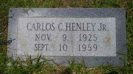 HENLEY JR., CARLOS - Union County, Arkansas | CARLOS HENLEY JR. - Arkansas Gravestone Photos