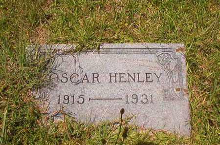 HENLEY, OSCAR - Union County, Arkansas | OSCAR HENLEY - Arkansas Gravestone Photos