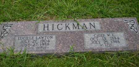 LAWTON HICKMAN, LUCILLE - Union County, Arkansas | LUCILLE LAWTON HICKMAN - Arkansas Gravestone Photos