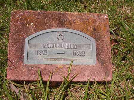 HIDY, MABLE I - Union County, Arkansas | MABLE I HIDY - Arkansas Gravestone Photos