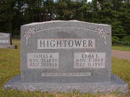 HIGHTOWER, EDNA E - Union County, Arkansas | EDNA E HIGHTOWER - Arkansas Gravestone Photos