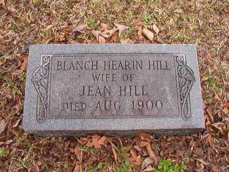 HILL, BLANCH - Union County, Arkansas | BLANCH HILL - Arkansas Gravestone Photos
