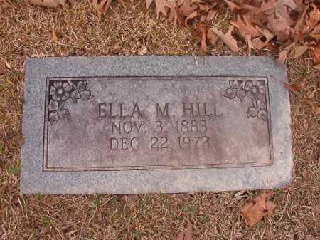 HILL, ELLA M - Union County, Arkansas | ELLA M HILL - Arkansas Gravestone Photos
