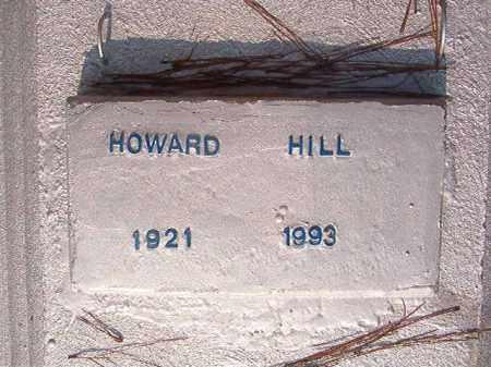 HILL, HOWARD - Union County, Arkansas | HOWARD HILL - Arkansas Gravestone Photos
