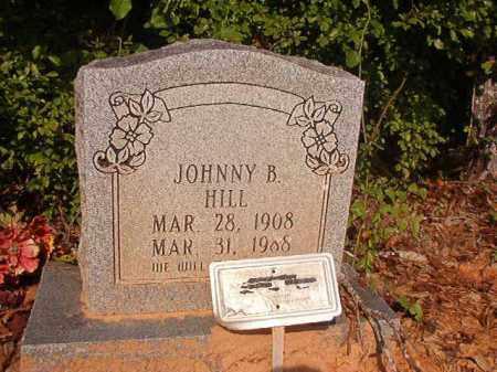 HILL, JOHNNY B - Union County, Arkansas | JOHNNY B HILL - Arkansas Gravestone Photos