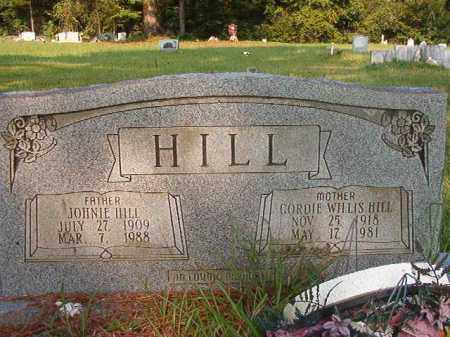 HILL, JOHNNIE - Union County, Arkansas | JOHNNIE HILL - Arkansas Gravestone Photos