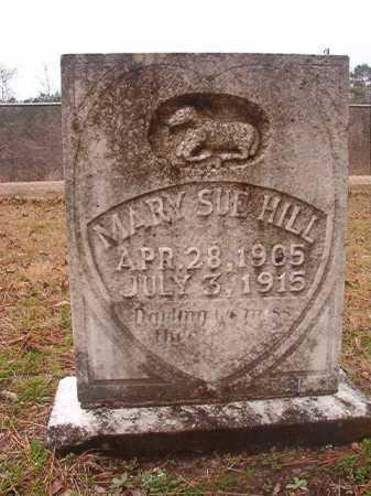 HILL, MARY SUE - Union County, Arkansas | MARY SUE HILL - Arkansas Gravestone Photos