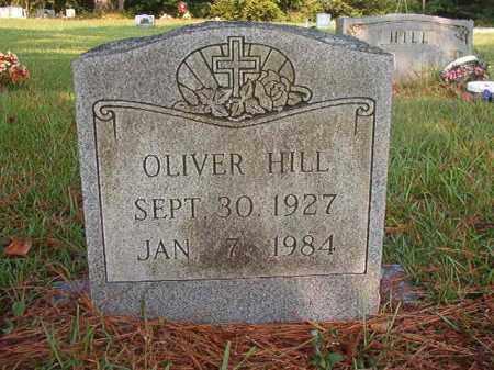 HILL, OLIVER - Union County, Arkansas | OLIVER HILL - Arkansas Gravestone Photos