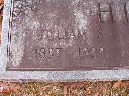 HILL, WILLIAM S - Union County, Arkansas | WILLIAM S HILL - Arkansas Gravestone Photos