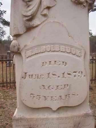 HOLBROOK, M A - Union County, Arkansas   M A HOLBROOK - Arkansas Gravestone Photos