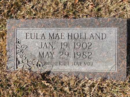 HOLLAND, EULA MAE - Union County, Arkansas   EULA MAE HOLLAND - Arkansas Gravestone Photos
