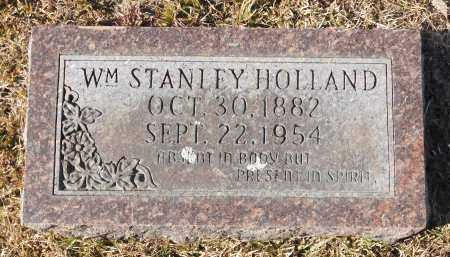 HOLLAND, WILLIAM STANLEY - Union County, Arkansas | WILLIAM STANLEY HOLLAND - Arkansas Gravestone Photos