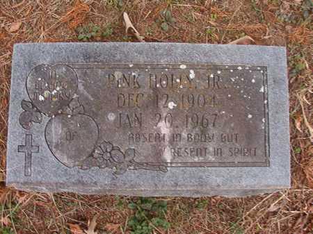 HOLLY, JR, PINK - Union County, Arkansas | PINK HOLLY, JR - Arkansas Gravestone Photos