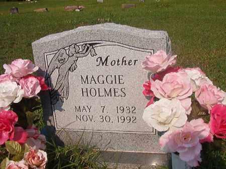 HOLMES, MAGGIE - Union County, Arkansas   MAGGIE HOLMES - Arkansas Gravestone Photos
