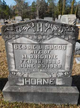 SUGGS HORNE, BESSIE L - Union County, Arkansas | BESSIE L SUGGS HORNE - Arkansas Gravestone Photos