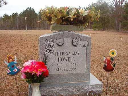 HOWELL, THERESA MAY - Union County, Arkansas   THERESA MAY HOWELL - Arkansas Gravestone Photos