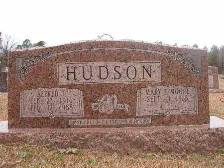 HUDSON, ALFRED J - Union County, Arkansas | ALFRED J HUDSON - Arkansas Gravestone Photos
