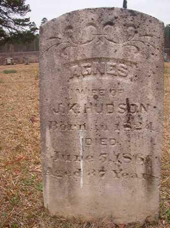HUDSON, AGNES - Union County, Arkansas | AGNES HUDSON - Arkansas Gravestone Photos