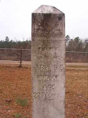 HUDSON, DOTY - Union County, Arkansas   DOTY HUDSON - Arkansas Gravestone Photos