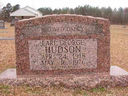 HUDSON, EARL GEORGE - Union County, Arkansas   EARL GEORGE HUDSON - Arkansas Gravestone Photos