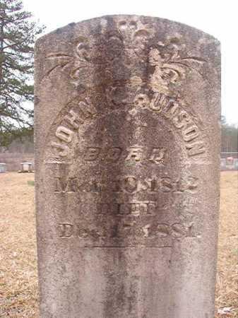 HUDSON, JOHN K - Union County, Arkansas   JOHN K HUDSON - Arkansas Gravestone Photos