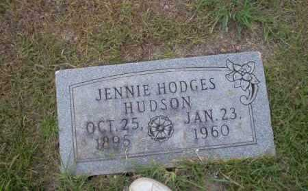 HODGES HUDSON, JENNIE - Union County, Arkansas | JENNIE HODGES HUDSON - Arkansas Gravestone Photos