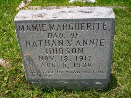 HUDSON, MAMIE MARGUERITE - Union County, Arkansas | MAMIE MARGUERITE HUDSON - Arkansas Gravestone Photos