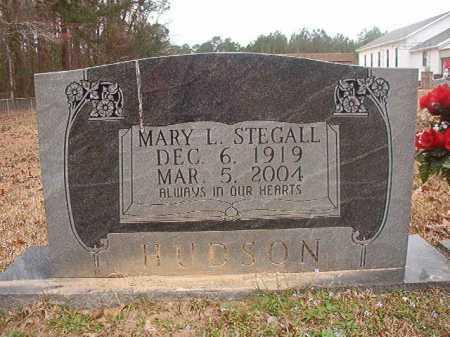 STEGALL HUDSON, MARY L - Union County, Arkansas | MARY L STEGALL HUDSON - Arkansas Gravestone Photos