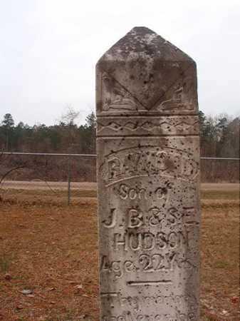 HUDSON, RAYMOND - Union County, Arkansas | RAYMOND HUDSON - Arkansas Gravestone Photos