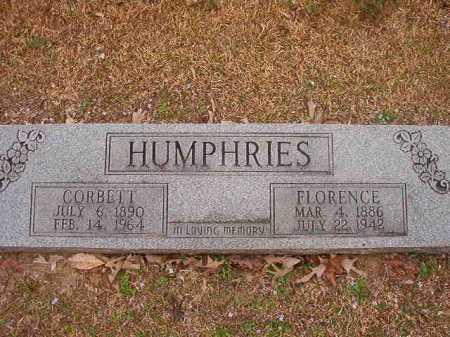 HUMPHRIES, CORBETT - Union County, Arkansas | CORBETT HUMPHRIES - Arkansas Gravestone Photos
