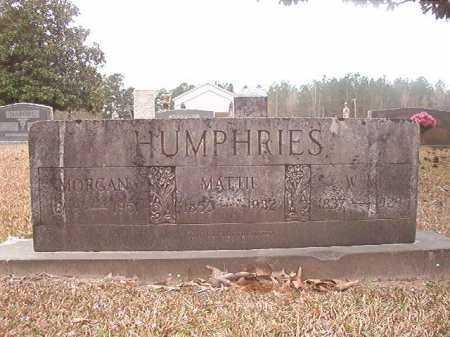 HUMPHRIES, MATTIE - Union County, Arkansas | MATTIE HUMPHRIES - Arkansas Gravestone Photos