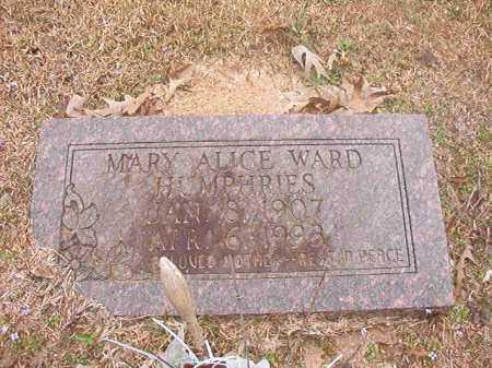 HUMPHRIES, MARY ALICE - Union County, Arkansas | MARY ALICE HUMPHRIES - Arkansas Gravestone Photos