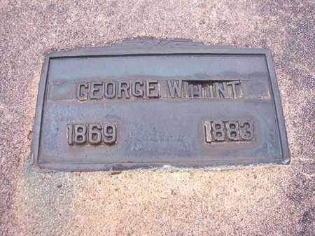 HUNT, GEORGE W - Union County, Arkansas | GEORGE W HUNT - Arkansas Gravestone Photos