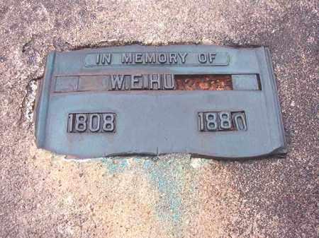 HUNT, W E - Union County, Arkansas | W E HUNT - Arkansas Gravestone Photos