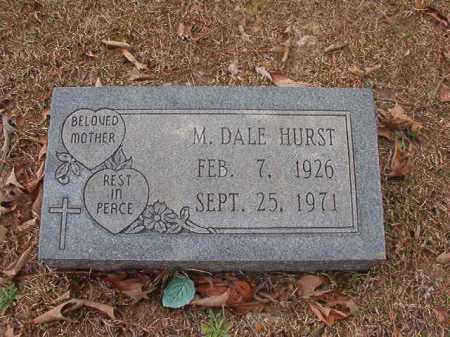 HURST, M DALE - Union County, Arkansas | M DALE HURST - Arkansas Gravestone Photos