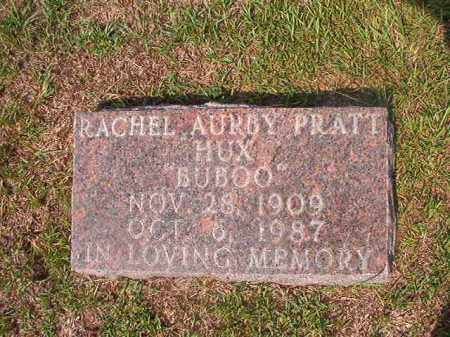 PRATT HUX, RACHEL AURBY - Union County, Arkansas | RACHEL AURBY PRATT HUX - Arkansas Gravestone Photos