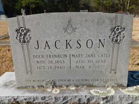 CATES JACKSON, MARY JANE - Union County, Arkansas | MARY JANE CATES JACKSON - Arkansas Gravestone Photos
